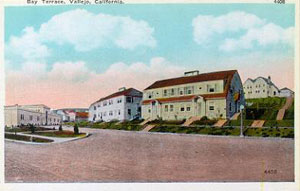 photo of bay terrace circa 1908